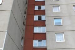 dnsb kniaudiki 65 balkon stiklinimai
